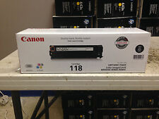 BRAND NEW GENUINE FACTORY SEALED CANON 118 BLACK TONER CARTRIDGE 2662B001[AA]