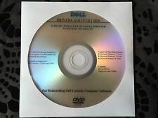 Dell Latitude E5440 E5540 Resource Drivers CD DVD Disc