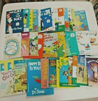 Random LOT OF 10 Dr Seuss Bright & Early, I Can Read It Beginner Books-HC
