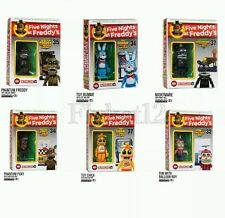 McFarlane Five Nights At Freddy's Micro Construction Complete Set (6) Fall 2016