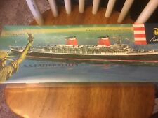 1996 Revell 1:601 SS United States Ocean Liner Plastic Model Kit SEALED INCELLO