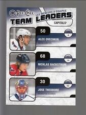 10-11 OPC Team Leaders #TL30 Nicklas Backstrom/Alexander Ovechkin/Jose Theodore