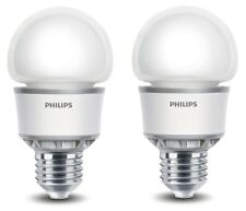2 x Philips Econic LED Light Bulb 5W E27 Energy Saving A60 ONLY £4.99