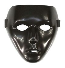 Black Full Face Jabbawockeez Dance Crew Plastic Costume Mask Prop