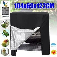 Large Waterproof Oxford Cloth Universal Parrot Bird Cage Cover Pet Protector