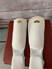 Tiger Claw's Martial Arts Sparring Shin Pads Size Child (5 Pads total)