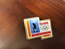 1998 Kodak Eric Bergoust Freestyle Ski USA Olympic Hat Lapel Pin