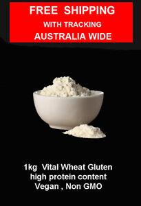 1kg Vital Wheat Gluten, High in Protein, Vegan, Non GMO