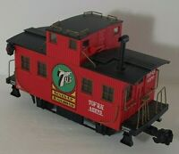 ARISTO 7 UP SEVEN-UP CABOOSE CAR G SCALE G SCALE VG CONDITION