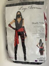 NINJA PLAYSUIT FANCY DRESS COSTUME NEW HALLOWEEN PARTY XMAS DRESSING UP GLAM