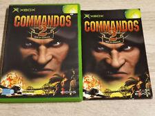 COMMANDOS 2 MEN OF COURAGE XBOX (XBOX 360 ONE S X SERIES X )