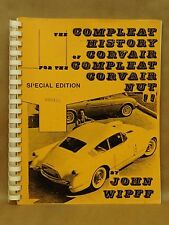 Vintage 1978 Complete Compleat History Corvair Book by Wipff Vol 1 Chevrolet