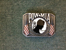 Pow * Mia Metal Belt Buckle