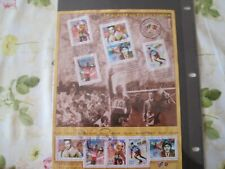 FRANCE 2000.BF DE 10 TIMBRE GOMME CACHET ROND.LE SIECLE AU FIL DU TIMBRE  BF 29
