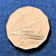2000 Fiji 50 Cents - Beautiful Full Luster - Only 536K Minted - See PICS