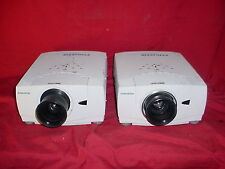 Christie LX45 LCD Projector AKA SANYO PLC-XP55 Lot of 2 ~ 4500 LUMENS!
