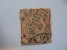 Timbre Deutsche Reich grand chiffre dans un ovale