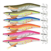 6pcs/pack Fishing Lures Luminous Squid Jigs Hard With 2# 3# 3.5# 4# Jig Hook New