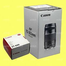 Canon EF 75-300mm f/4-5.6 III Lens + ET-64 II Hood for EOS APS-C DSLR Camera
