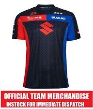 Buildbase Suzuki Superbike BSB Official Team Printed T-Shirt Tee - NEW GSXR BLK