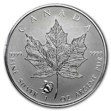 2016  SILVER 1 oz. CANADIAN MAPLE LEAF MONKEY PRIVY LIMITED MINTAGE!!