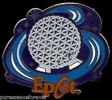 Disney Pin: WDW Booster Pack - Four Parks Icons: Epcot/Spaceship Earth