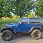 2010 Jeep Wrangler RUBICON 2010 Jeep Wrangler SUV Blue 4WD Automatic RUBICON