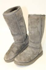 UGG Australia Uggs 5815 Classic Tall Womens 9 40 Gray Suede Sheepskin Boots zhf