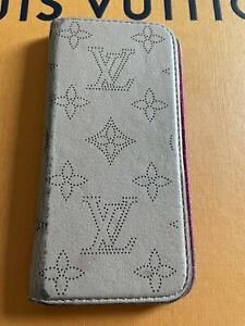 Louis Vuitton Leather Folio Phone Case For iPhone 8