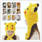 Cartoon Animal Hat Fluffy Plush Cap Unisex Perfect Gift for Him or Her Hot gift