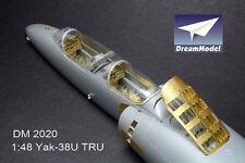 Dreammodel 1/48 2020 Yakovlev Yak-38 Yak-38U Soviet VTOL Detail Update PE