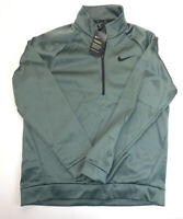 Nike Therma 1/4 Zip Pullover Training Sweatshirt AQ5253 382 Mens Size Large