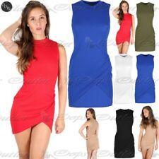 Elastane, Spandex Stretch Sleeveless Dresses for Women