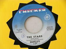 OCAPELLO'S~ THE STARS~ A KILLER TWO SIDER ~CHECKER ~ ANYTIME~~ SOUL 45