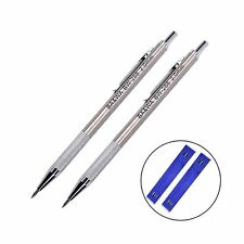 2 Pcs 2.0 mm Lead Holder Metal Mechanical Pencil Automatic Mechanical Drafting