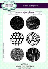 New listing Lisa Horton Elements A5 Clear Stamp Set Cec919 Inverted Cicles Clear Stamp Set