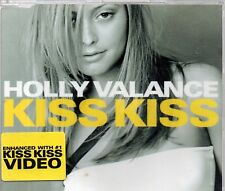 HOLLY VALANCE - KISS KISS (3 tracks + video, CD single)