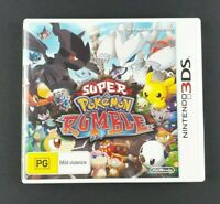 Super Pokemon Rumble | Nintendo 3DS | AUS PAL | 2011 | Childrens Game Free Post