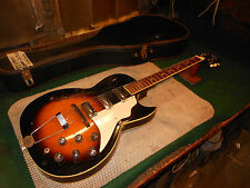 1960s Kay Truetone SPEED DEMON electric guitar Speed Bump Pickups sunburst USA