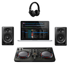 Pioneer DJ Starter Pack Complete Kit with Laptop and Software Included