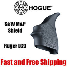 Hogue HANDALL S&W M&P Shield & Ruger LC9 Beavertail Rubber Grip Sleeve - 18400