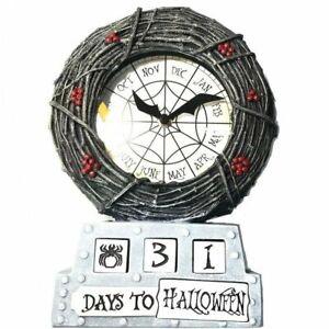 DISNEY THE NIGHTMARE BEFORE CHRISTMAS COUNTDOWN TABLE CLOCK HALLOWEEN
