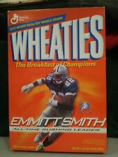 Wheaties 2002 Emmitt Smith NFL All-Time Rushing Leader Box Dallas Cowboys