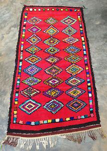 Vintage Moroccan  berber rug 180  x 100  cm