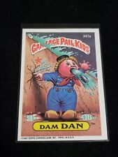 1987 GARBAGE PAIL KIDS 347a Dam Dan 9th Series 9 GPK
