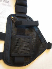 Hands Free Breathable MESH Radio Chest Harness  for Pro & UHF Radios 101 MESH