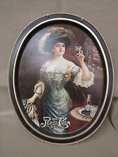 """Pepsi Cola"" Oval Tray 14.5"" X 11.5"" Far Craft Inc. /French Town N.J. MADE USA!!"