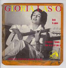 Gloria LASSO 45T EP SARAH -TE QUIERO -JE T'AIMERAI F. POURCEL - VOIX MAITRE 366