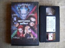 Batman & Robin - cassetta VHS originale