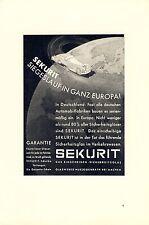New listing Sekurit Windscreen Glass Works Herzogenrath Aachen Advertising 1936 Vintage